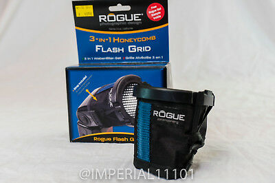 Rogue 3-in-1 Flash Grid Stacking System flashbender ExpoImaging