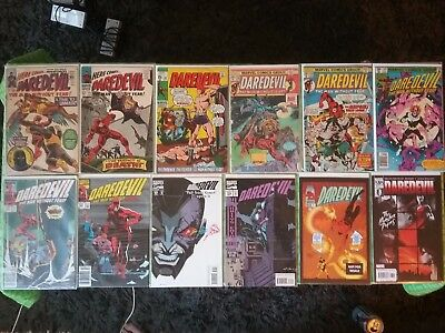 Daredevil comic book lot.