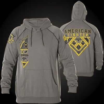 American Fighter Affliction Hoody Strategic NERO UOMO HOODIES