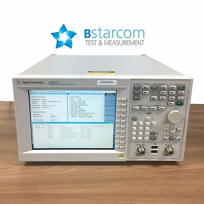 Agilent E6601A Wireless Communications test set - Opt: E6833A-1FP,E6889A-1FP,E68