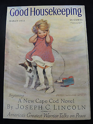 1932 Good Housekeeping Cover by Jessie Willcox Smith, Cape Cod Reference