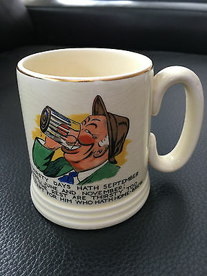 Lord Nelson Ware Tankard Thirsty Days ....