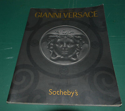 Sotheby's New York Gianni Versace May 21 2005 RARE