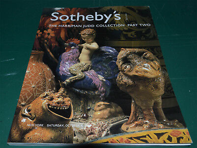 Sotheby's New York Harriman Judd Collection October 6  2001