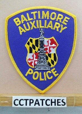 Baltimore, Maryland Auxiliary Police Shoulder Patch Md