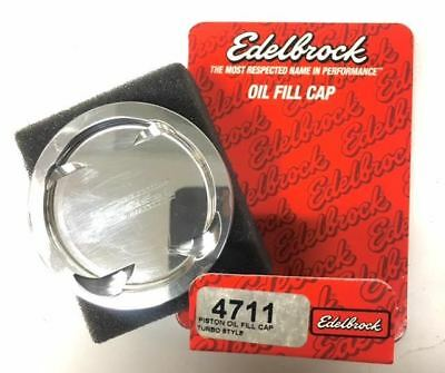 Edelbrock Low Compression Piston Style Oil Filler Cap for Acura Honda Vehicles