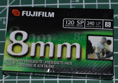 Fujifilm 8mm 120 SP Camcorder Video Cassette Tape Sealed NEW