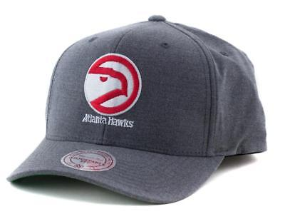Atlanta Hawks Cap - Mitchell & Ness NBA Hat - Mitchell And Ness In Grey