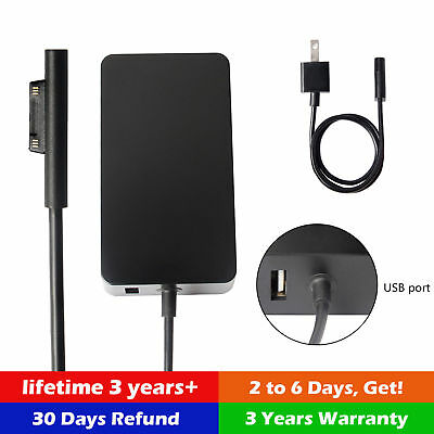New 2017 Surface Pro 4 / 3 Power Adapter Charger 36W 12V 2.58A Model 1625 AU