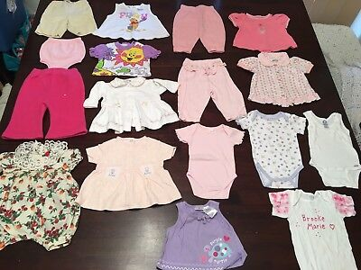 Baby Girls Size 3/6  Or 00 Clothes Mixed Lot