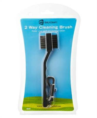New Golf Craft 2 Way Cleaning Brush