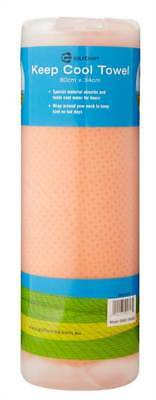 New Golf Craft Cooling Towel - Orange