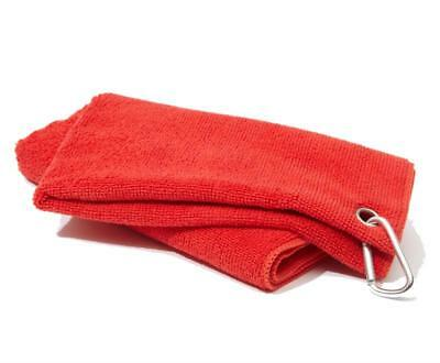 New Golf Craft Microfibre Towel - Red