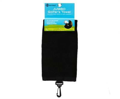 New Golf Craft Jumbo Golfer's Towel