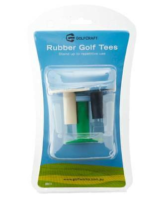 New Golf Craft Rubber Driving Range Tees