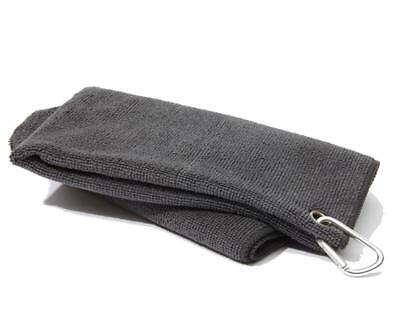 New Golf Craft Microfibre Towel - Charcoal