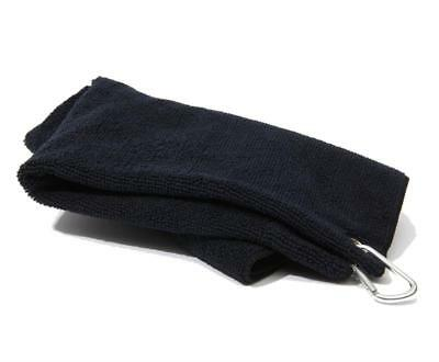 New Golf Craft Microfibre Towel - Black