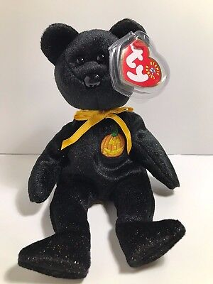 Ty Beanie Babies Baby Halloween Haunt w/Tags Excellent Condition 2000