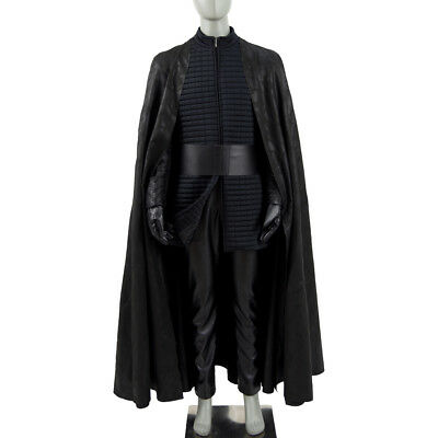 2017 Star Wars 8 :The Last Jedi Kylo Ren Cosplay Costume Christmas Black Cape