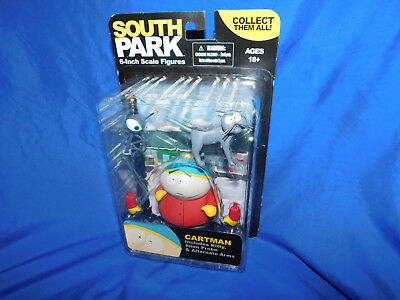 2011 South Park Cartman Alien Probe W/ Kitty 6 inch Scale Figure Mezco