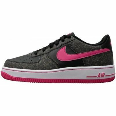 New Nike Air Force 1 Gs Youth Boys Girls Shoes Black-Vivid Pink 314219 016