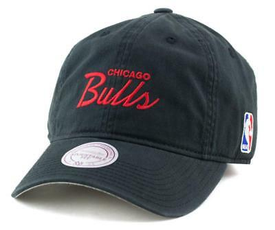Chicago Bulls Cap - Mitchell & Ness NBA Hat - Mitchell And Ness In Black