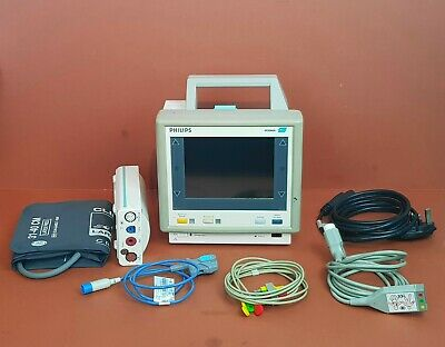 Patient Monitor Philips M3046A Colour Patient Monitor M3001A SpO2,NIBP,ECG,Temp
