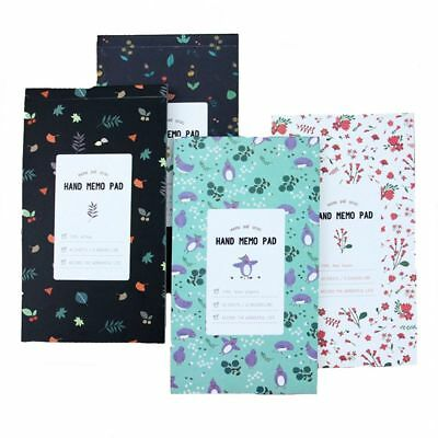 Flowery Weekly Monthly Planner Diary Journal Notebook Calendar Organizer New
