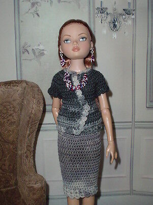 OOAK Tonner Ellowyne Lizette Prudence  Handmade Outfit including Jewellery