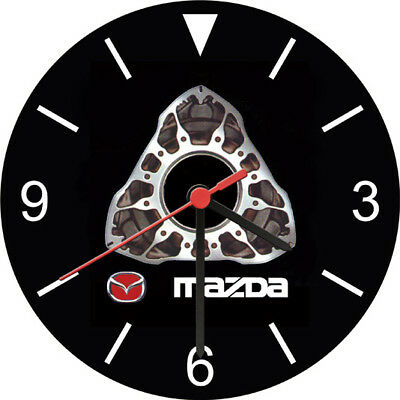 RX 7 8 Rotary Engine Advertising Wall Clock