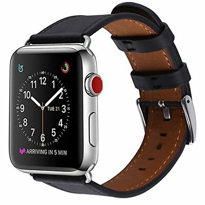 Replacement Genuine Leather Band Strap for Apple Watch Series 3 2 1 42mm Iwatch