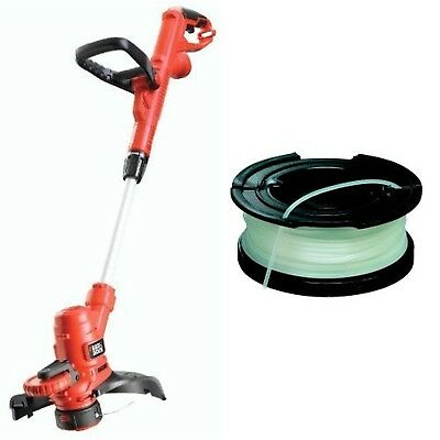 Black + Decker ST5530-GB 550W Corded Grass Strimmer with Spool + Line replace...