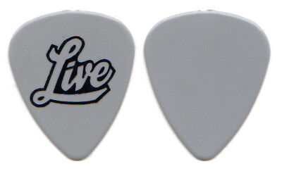 LIVE Guitar Pick : 1999 The Distance To Here Tour Ed Kowalczyk gray custom