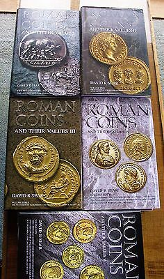 Roman Coins and their Values 5 vols 2000-2014 by David R Sear