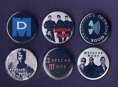 DEPECHE MODE 31mm Badge Badges Set 4 - FREEPOST