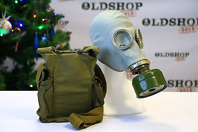 GAS MASK GP-5 Mask Filter Bag New Genuine Vintage Retro Soviet Russian COOL GIFT