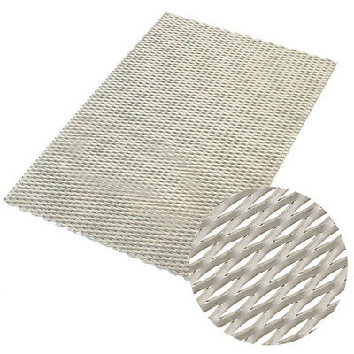 200x300x0.5mmTitanium Metal Mesh Sheet Perforated Diamond Holes Plate Expanded