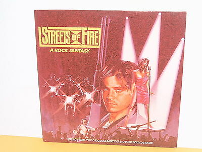 Lp - Streets Of Fire - A Rock Fantasy