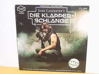 Lp - John Carpenter's - Die Klapperschlange