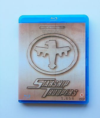Starship Troopers 1, 2 & 3   Triple Play Blu-Ray   3 Discs