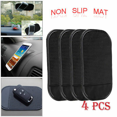 4 x Car Anti Slip Dash Non DashBoard Pad Mat Sticky Holder For Mobile Phone Key