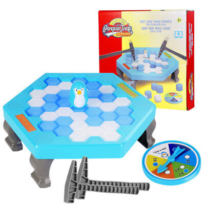 Hammer Penguin Save the Penguin on Ice Game Break Ice Block Trap Fun Mini Games