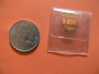 The Queen Mother Coin. August 4th 1980. In A Williams & Glynn Bank Wallet Case