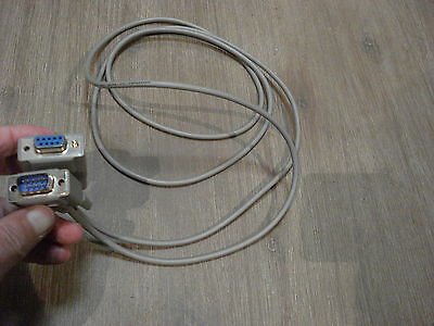 UPS 9 pin serial patch-extension lead approximately 6 foot (1.8 metres) long 2nd