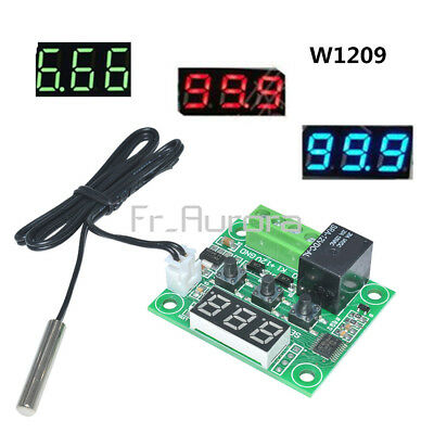 W1209 DC12V -50~110°C Digital Thermostat Temperature Control Switch Sensor