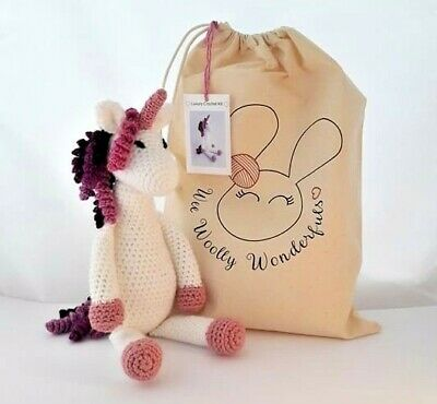 Unicorn Crochet Kit - Venus Luxury Kit - Christmas Birthday Mum Craft Gift