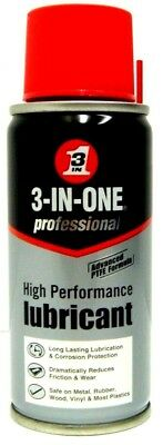 3 In One Oil Aerosol Spray Can 3 In 1 Oil Lubricant Rust Protection Oil 50ml New