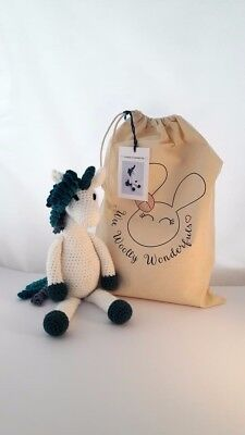 Unicorn Luxury Crochet Kit - Neptune the Unicorn-Christmas Birthday Craft Gift