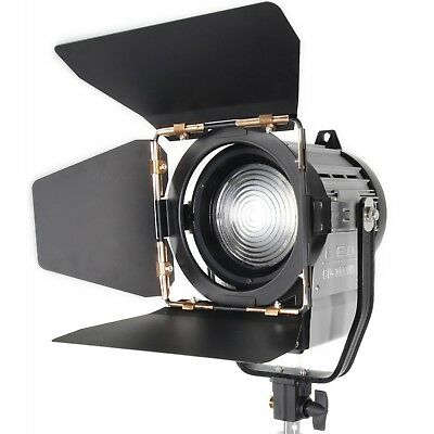 ASHANKS Dimmable Bi-color 100W LED Studio Fresnel spot Light 3200-5500K for S...