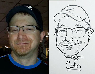 Caricature party